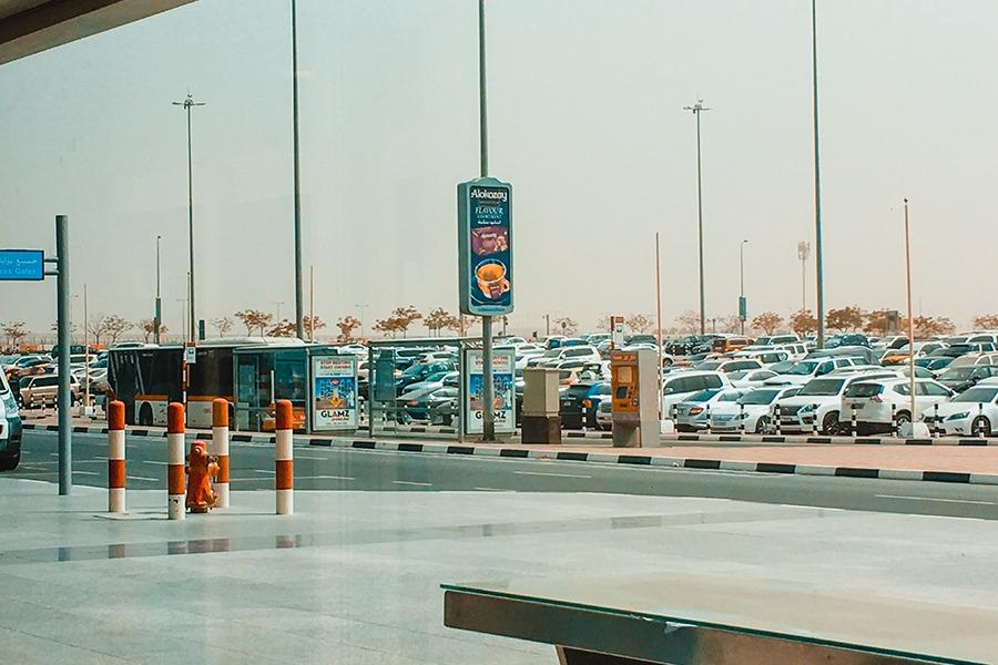 dubai airport bus station